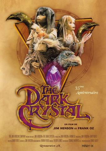 AFFICHE DARK CRYSTAL